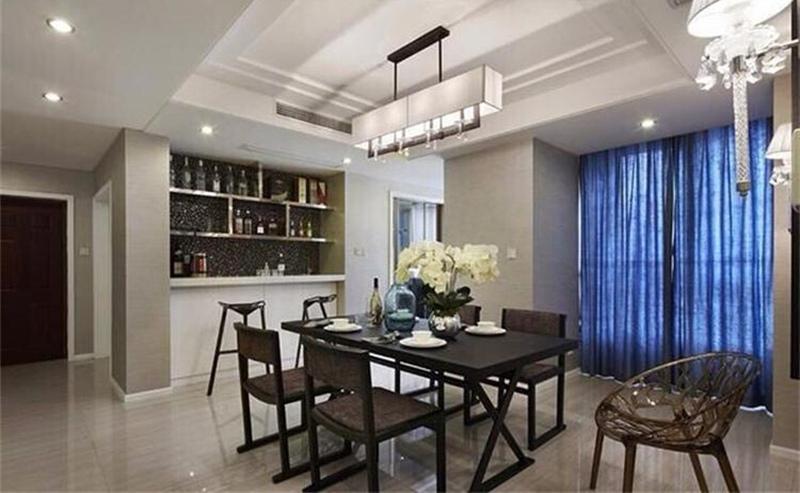 美式家具咖啡厅餐桌 交叉铁艺原木餐台 西餐厅实木拼接板餐桌